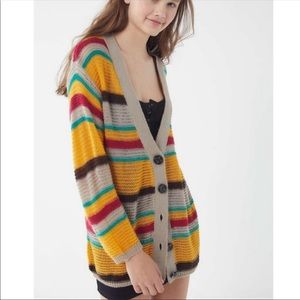 NWOT Urban Outfitters striped cardigan